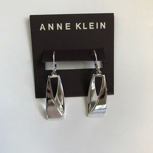 🌟NWT🌟 Anne Klein Silver Earrings